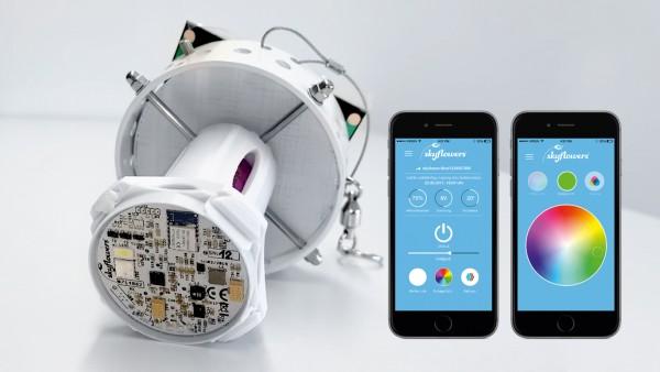 LED-Solar-Leuchte Premium, App-gesteuert