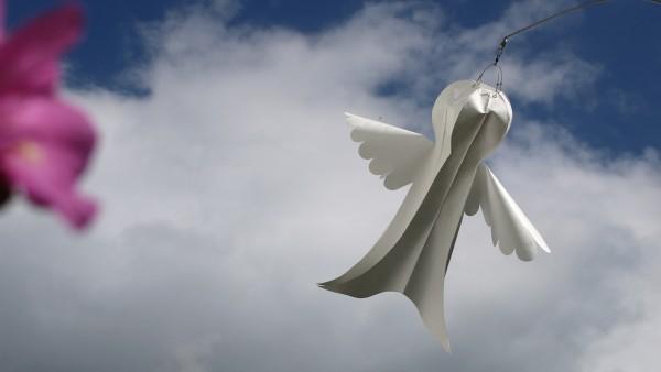 Windspiel Schutzengel